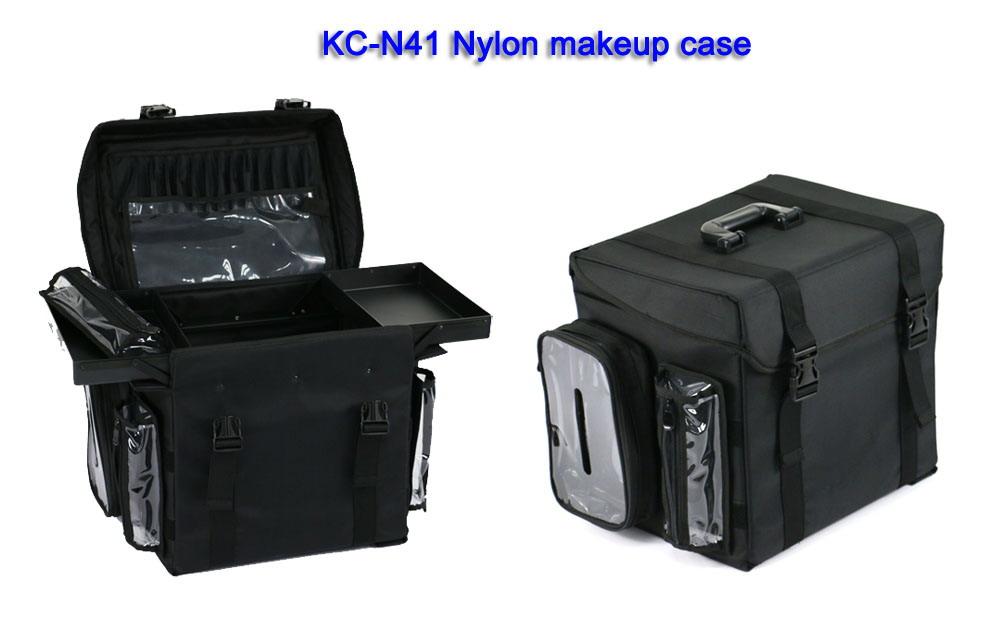 Professional new fashion nylon makeup case 15