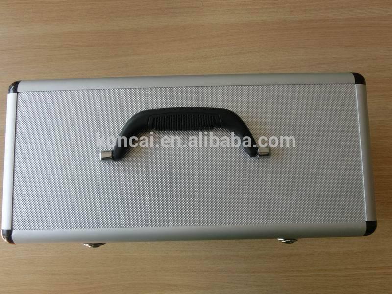 Professional aluminum/aluminium salon hair dresser hairdressing trolley case hair extension holder hairdressing equipment 7