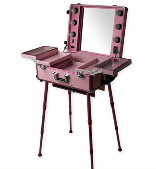 MOQ-1pc-Mobile-Professional-PINK-Aluminum-makeup