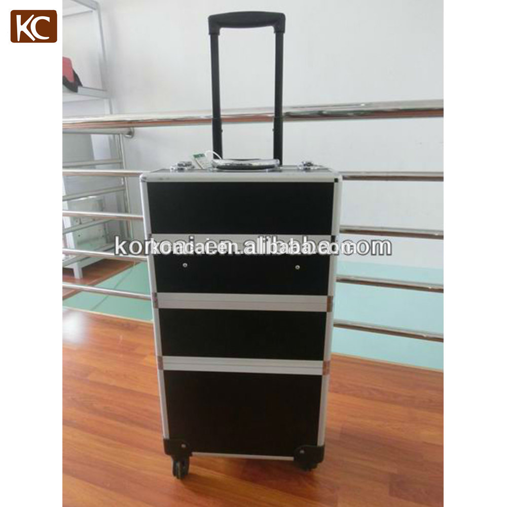 Portable Protective Heavy-duty can hold up to 20kgs small aluminum Makeup tool case