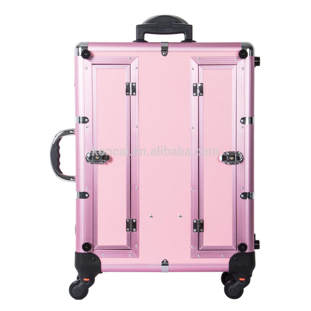 Beauty-Salon-Stations-Aluminum-Frame-Multi-wheels