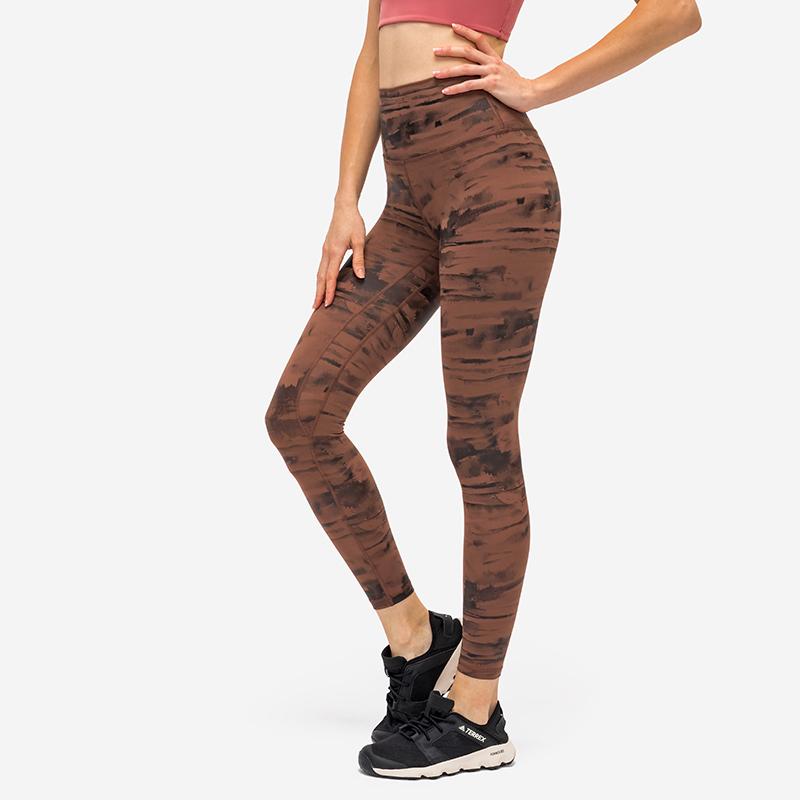 Women Leggings High Waist Print Yoga Pants