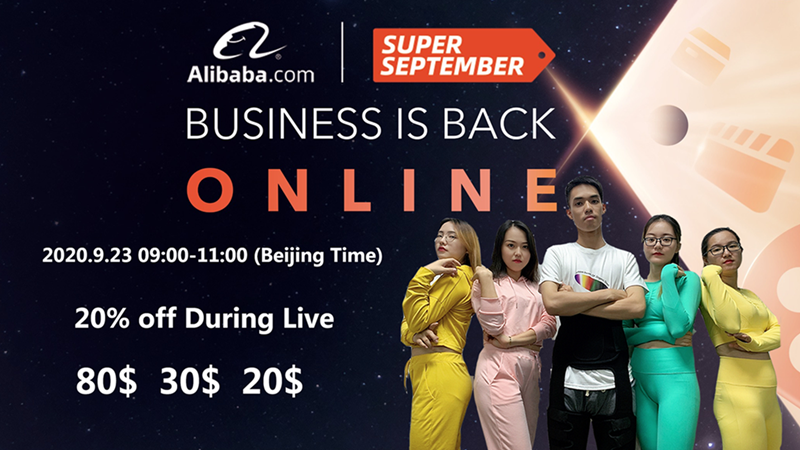 Ljvogues Live Show Alibaba