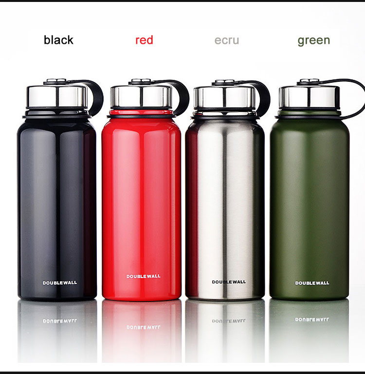 800ml Sport Bicycle Stainless Steel Insulated Water Bottle 4