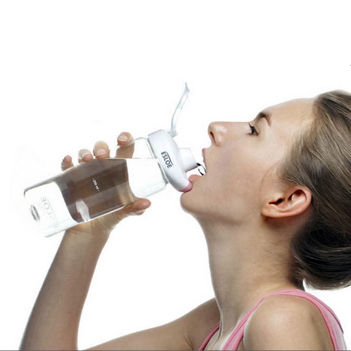nike sport gold standard whey protein tea infuser bottle