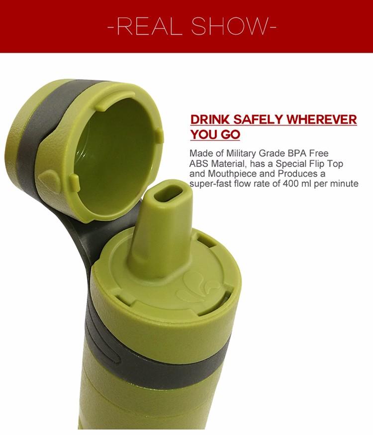 water bottle filter sport botle Details 15