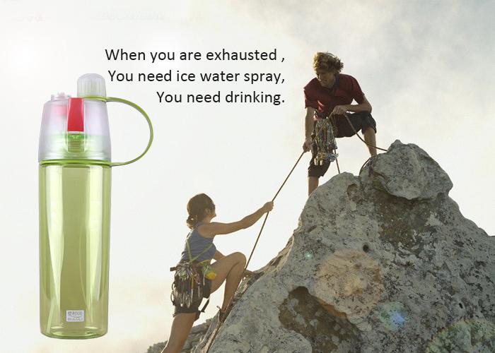 High quality 600ml joyshaker water bottle factory plastic sports water mist spray bottle 15