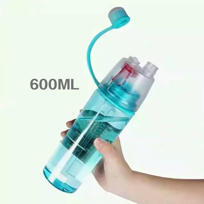 bpa free customize hot insulated cycling water bottle 600ml joyshaker plastic spray bottle with nozzle
