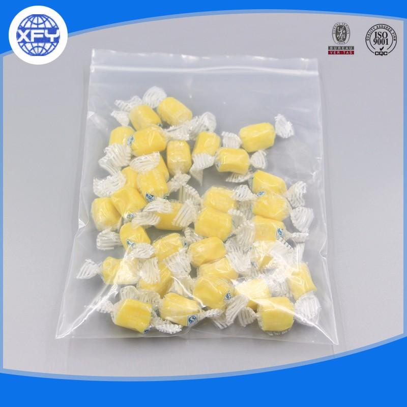 High Quality clear plastic zipper bags 7