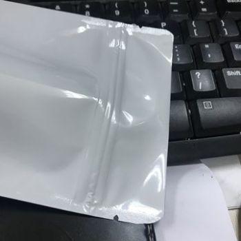 White-printing-food-standup-pouch-bag-plain