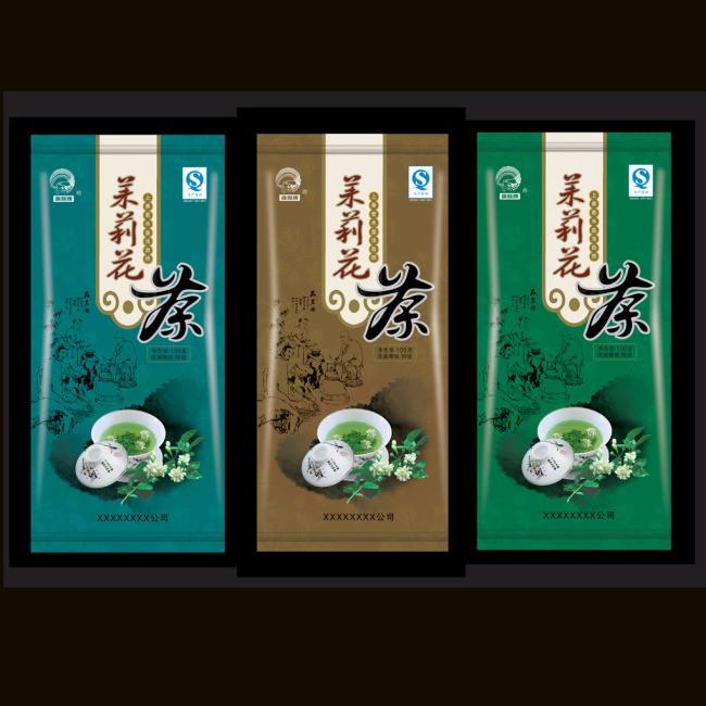 tea plastic bag Customized Details 5