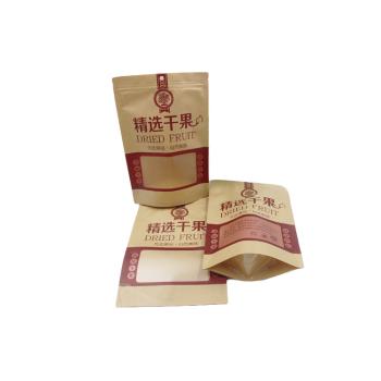 Manufacturer-Kraft-Paper-Stand-Up-Ziplock-plastic