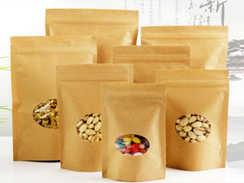 Brown-Kraft-Paper-Pouch-Candy-Favor-Stand