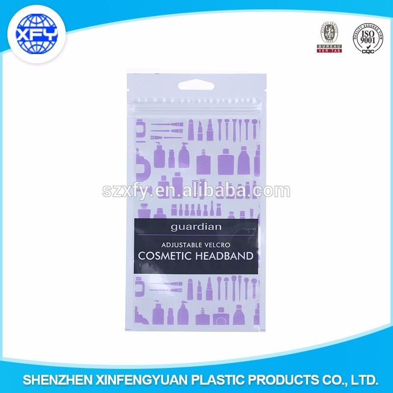 Custom Printing Electronic Packaging Bag &Plastic Earphone /Phone Charger Packaging Bag 5