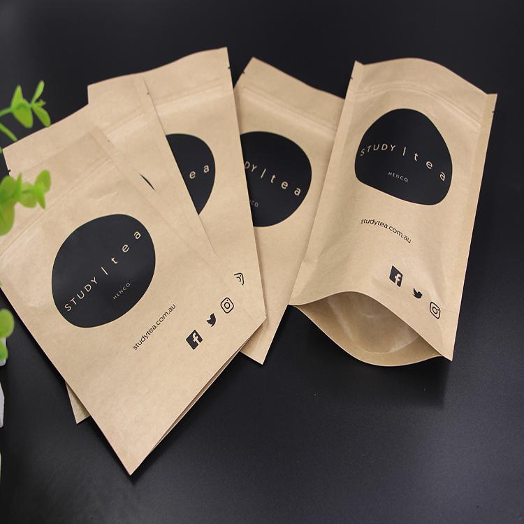 Wholesale Custom Printed Kraft Paper Packaging Empty Tea Bags For Sale 7