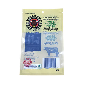 2018 New Packaging Three Side Seal Bag/vacuum Sealed Bags/heat Seal Bag For Beef Jerky 7