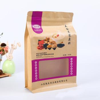 Nut-snacks-kraft-paper-eight-edge-sealed