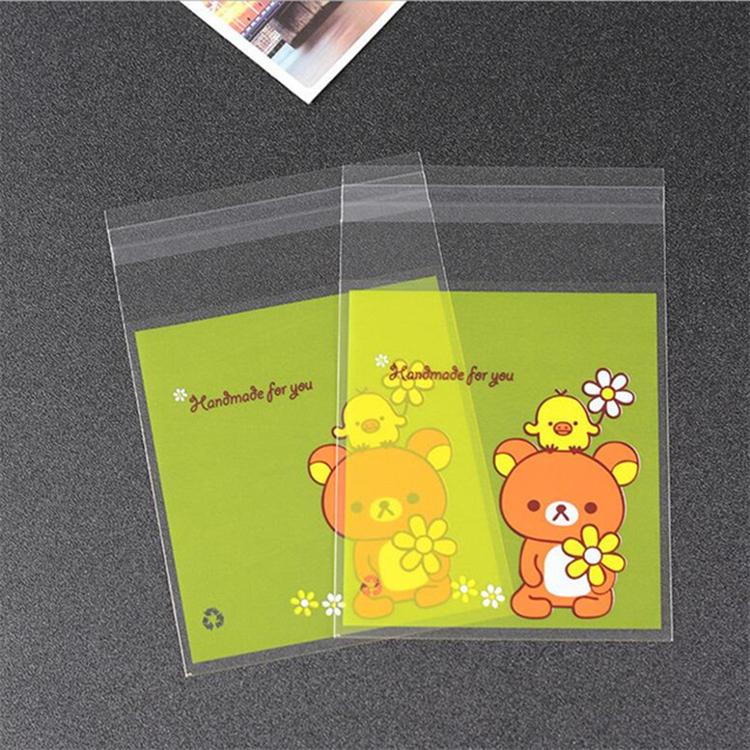 Cute OPP Custom Plastic Bag for Cookies Packaging with Design 7