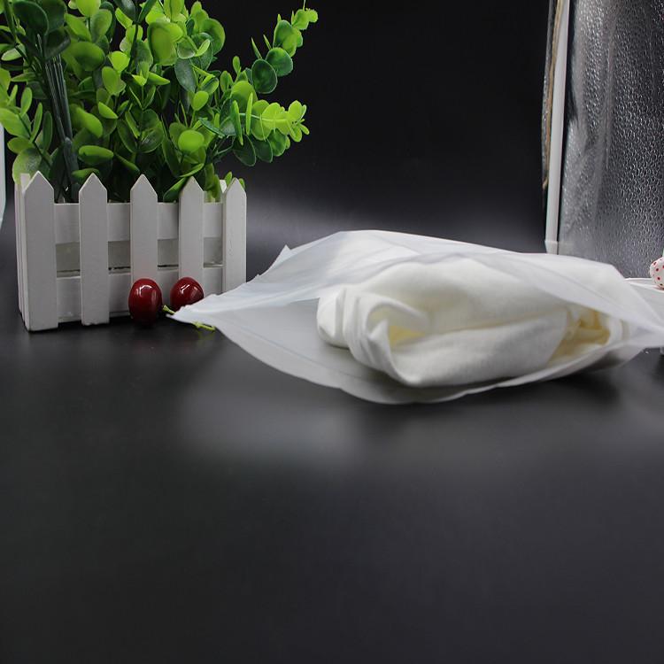 Waterproof Clear Plastic PE Zip lock Bag for clothes / T shirt Packaging bag 5