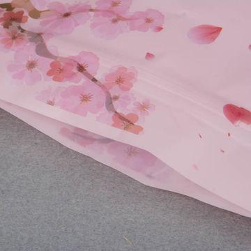 Pet/pe Custom-printed Design Food Packaging Bags Stand With Window Zipper Candies Plastic Bags 13