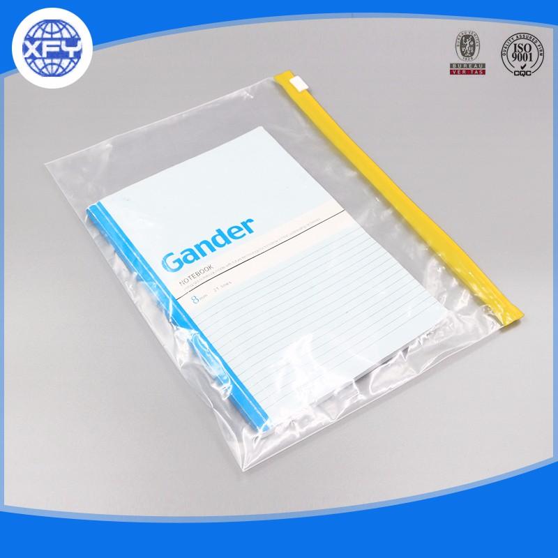 Resealable PE / PVC Slider Zip Lock Bags 9