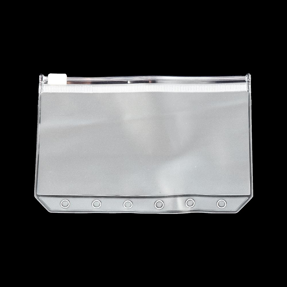 Clear Transparent Zip Lock Pvc Plastic Pencil Case Stationery Case Zipped Bag Pouch School