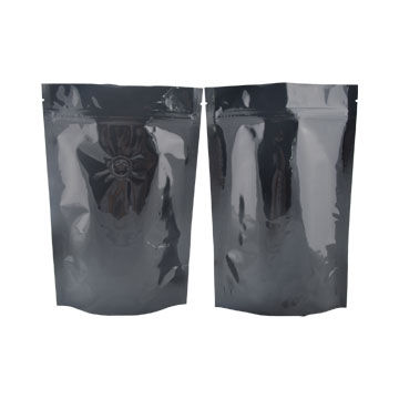 Food-grade custom printing resealable stand up zipper bag with tear notch plastic bag for food 9