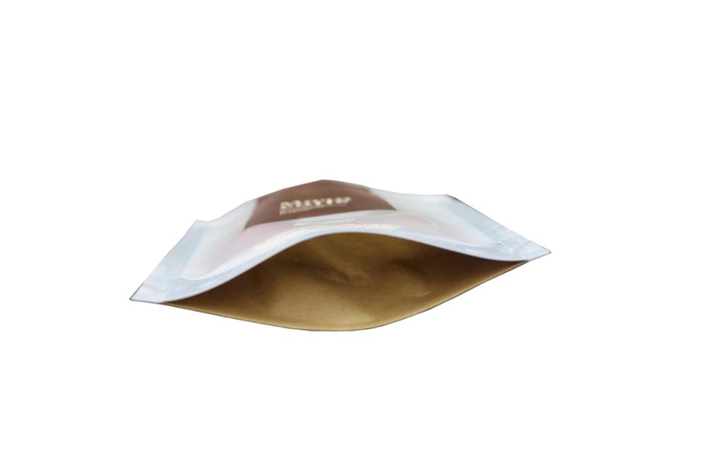 Customized stand up zip lock aluminum foil bag for coffee 13