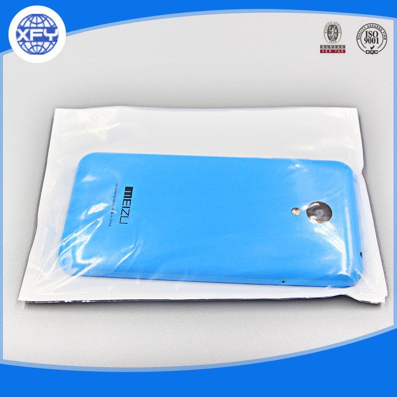 Hot Sale Mini Self Adhesive Seal One Side Transparent Plastic Bag For Cell Phone Accessories