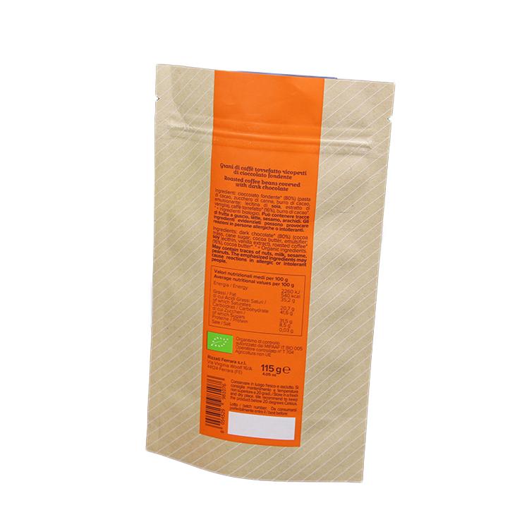 Custom Printed Zipper Plastic Food Packaging Standup Pouches Bag 7