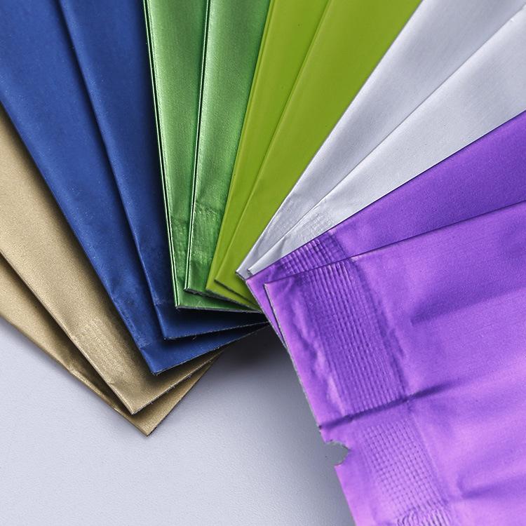 Aluminum foil bag color printing four-sided seal moisture-proof tea bag plastic bags customized