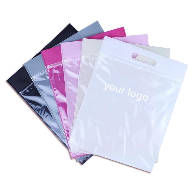 Reusable Ziplock Plastic Packaging Bags For Underwear/Clothes/Bikini/socks/comestic 3
