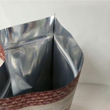 Kraft-paper-pouches-foil-lined-plastic-bag