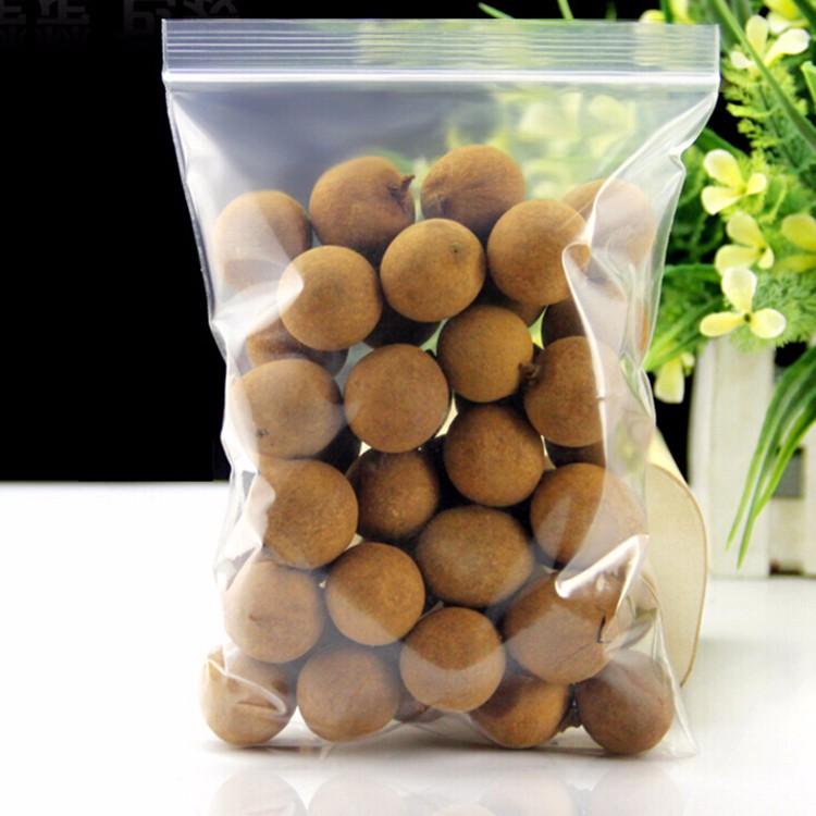 HDPE Zip Reclosable Lock Food Storage Plastic Bag 7