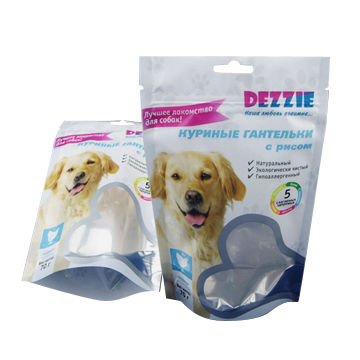 Stand-up-pouch-resealable-dog-foods-bag