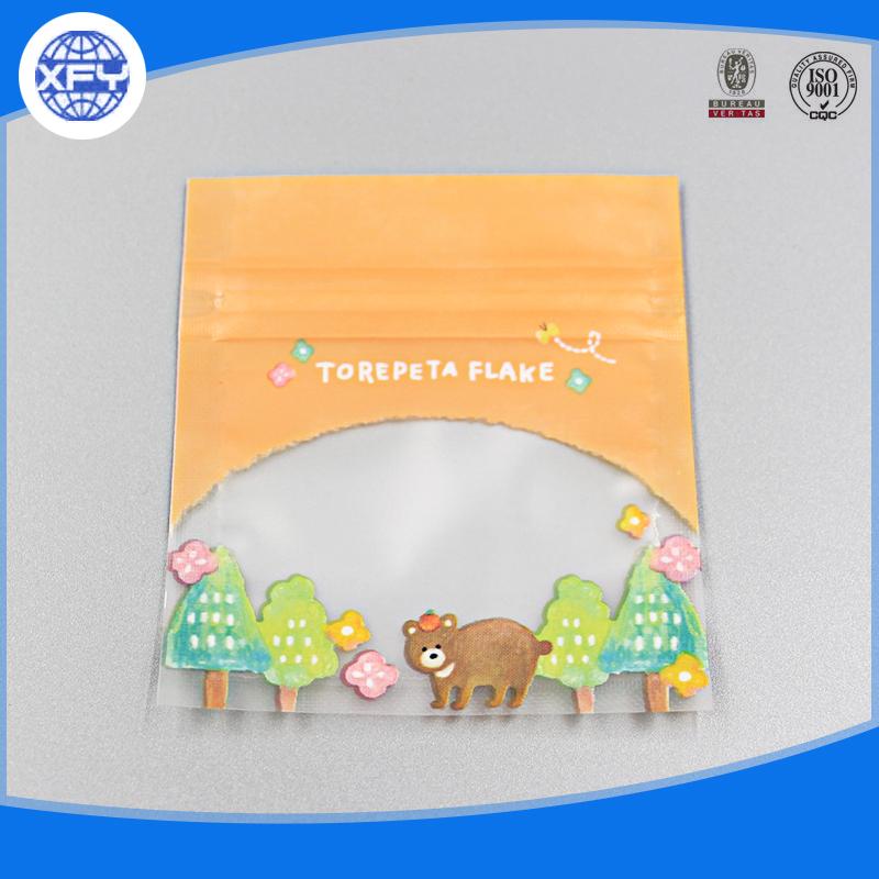 Manufacturer Small Carton Packaging Candy Plastic Ziplock Bag