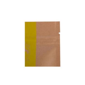 Customized-Stand-up-Kraft-paper-zip-lock