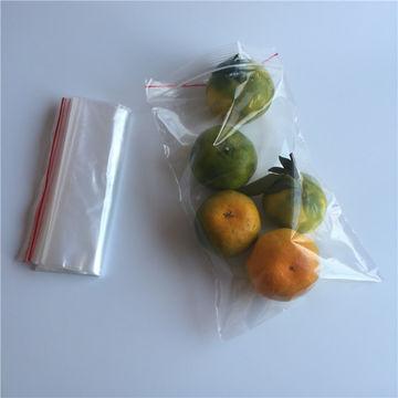 transparent resealable bag/plastic bag big size/LDPE bag custom printing