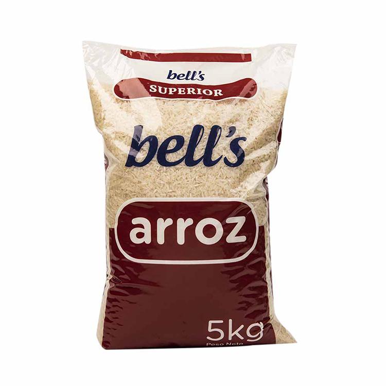 Food Grade Laminated Plastic 10kg 5kg Rice Bag