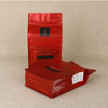 Top zip lock plastic clear laminated aluminum foil bag/resealable stand up plastic bag