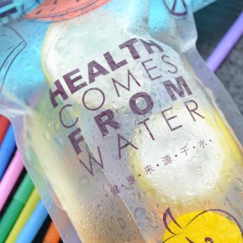 Cute-cartoon-design-Drinks-clear-self-sealing