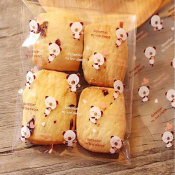 Cute-Self-Adhesive-Food-Packaging-Bag-for