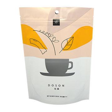 Plastic bag coffee bag tea bag stand up pouch