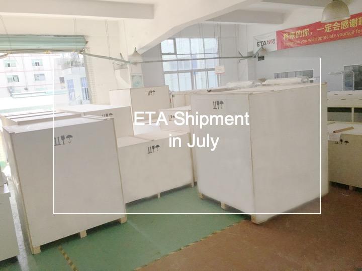 ETA SMT Production Line Machine Shipment in July