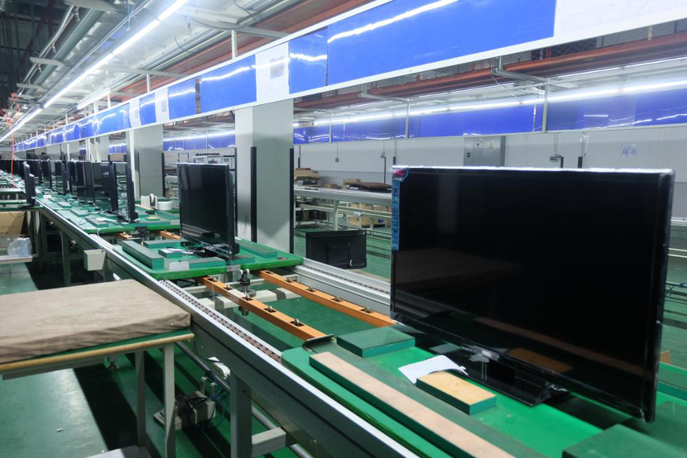 led tv assembly line