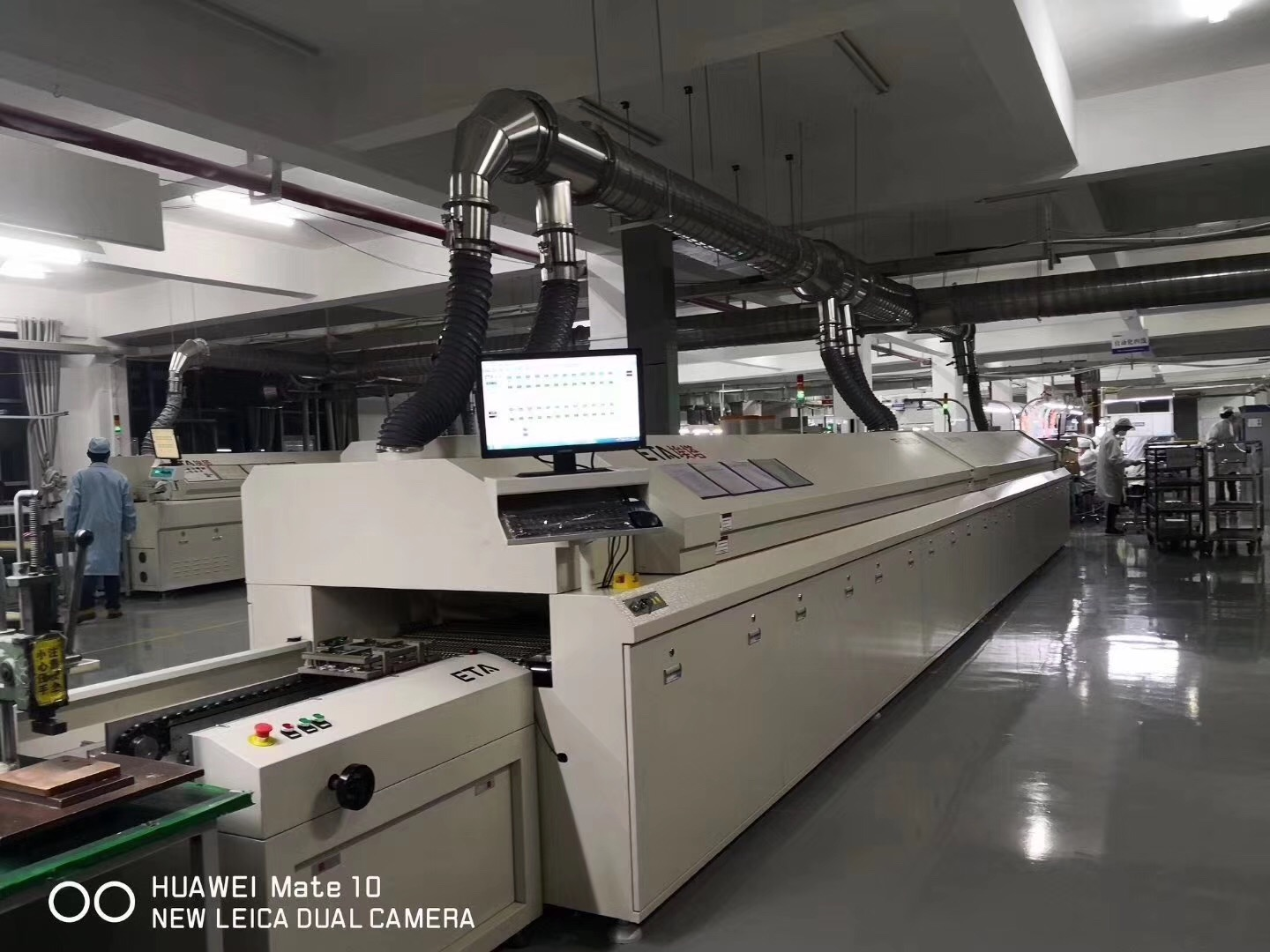 ETA Customized SMT Reflow Oven for HUAWEI