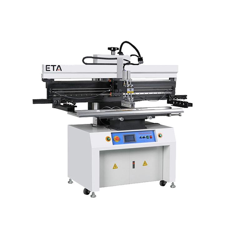 LED Semi-auto Solder Paste Screen Printer
