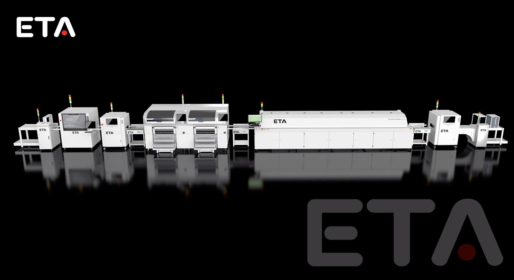 ETA Lyra Reflow Oven with SMT Line