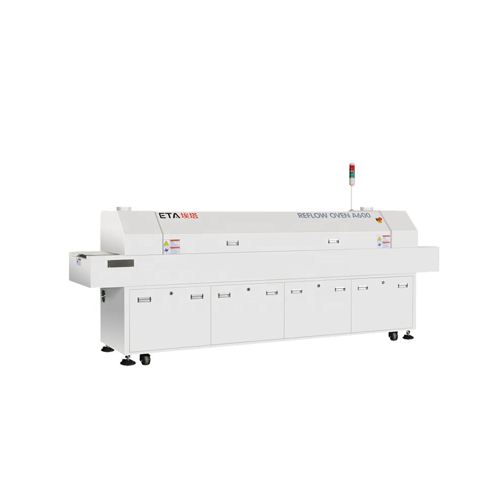 LED Reflow Oven Reflow Oven Machine SMT Oven for LED Bulb Making Machine Line Mobile Full Production Line