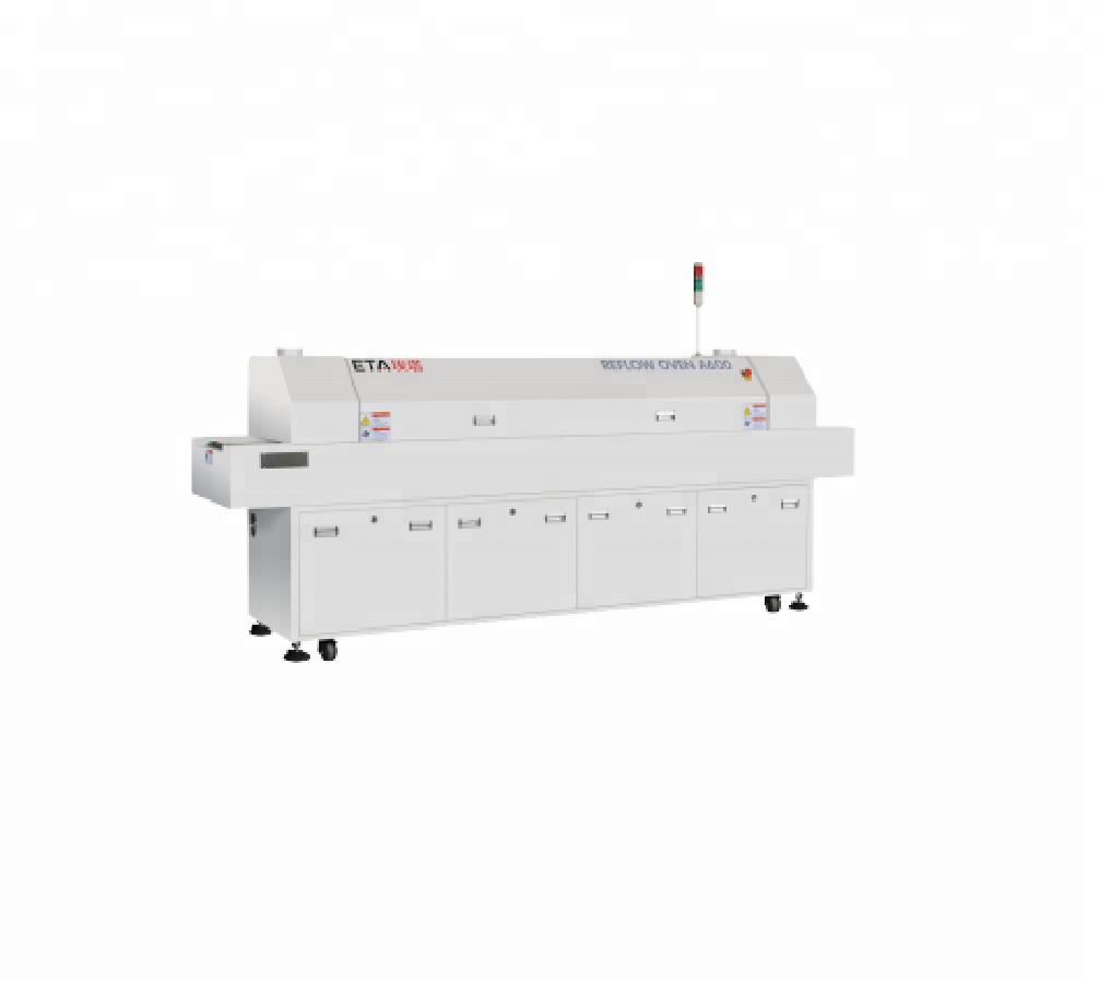 6-Heating-Zones-SMD-Reflow-Oven-Machine